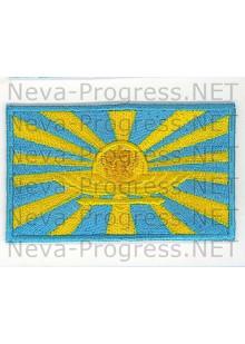 Шеврон флаГ ВВС на полетный комбинезон (желтый герб)