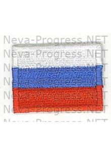 Шеврон Флаг России, прямоугольник, без канта
