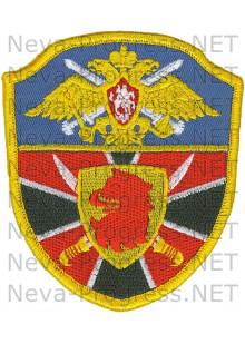 Шеврон Пограничного отряда г.Каспийск республика Дагестан в.ч. 2062. Оверлок