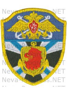 Шеврон 6-я Отдельная бригада Пограничных сторожевых кораблей (г.Каспийск)