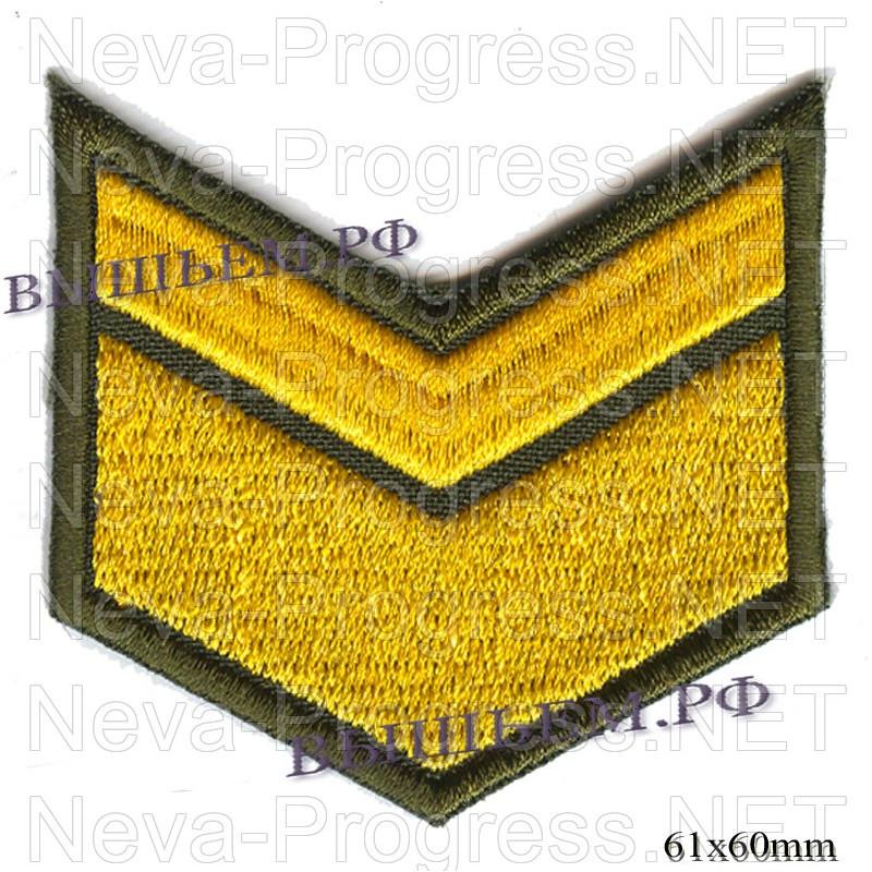 Шеврон по годам службы (годовка) 6 шесть лет службы (выслуги лет)