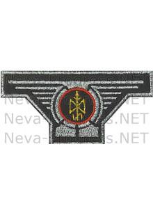 Шеврон МЧС России  поисково-спасательный отряд (метанить)