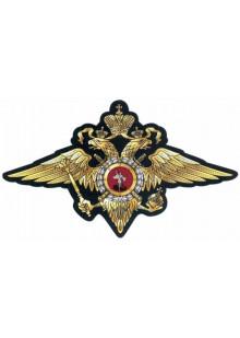 Шеврон нагрудная эмблема органов внутренних дел.