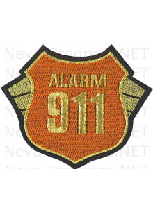Шеврон Alarm 911