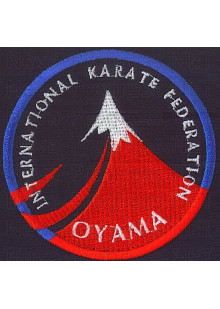Шеврон INTERNATIONAL KARATE FEDERATION OYAMA
