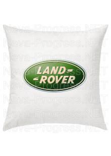Подушка с вышитым логотипом LAND ROVER в салон автомобиля, размер и цвет выбирайте в опциях
