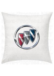 Подушка с вышитым логотипом BUICK в салон автомобиля, размер и цвет выбирайте в опциях