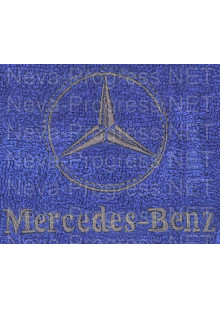 Полотенце с вышивкой  Mersedes-benz  размеры и цвета в ассортименте