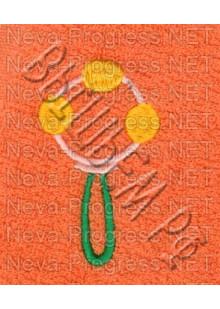 Полотенце с вышивкой   размеры и цвета в ассортименте