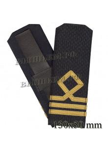 Погоны для курсантов и гражданского персонала Военно-Морского Флота России 2 категории. Цена за пару.