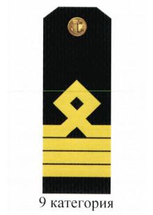 Погоны для курсантов и гражданского персонала Военно-Морского Флота России 9 категории. Цена за пару.
