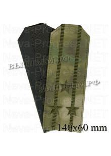 Погоны полковник Национальная Гвардия (Нацгвардия, Росгвардия) ФС ВНГ РФ, вышитые, цвет зеленый, синий мох, синяя точка (цифра) цена за пару погон.