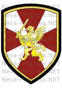 Нашивка (шеврон) Главное командование Росгвардии России (до 2017 года)