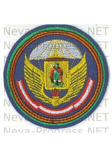 Шеврон Рязанского высшего воздушно-десантного командного училища (военного института)  (ВВДКУ) имени Маргелова.