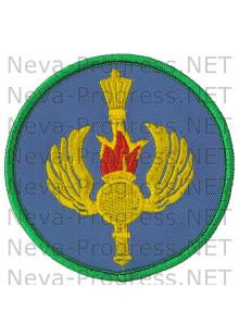 Шеврон управление командующего воздушно-десантных войск РФ