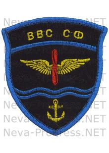Шеврон ВВС Северного флота (оверлок)