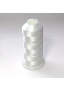 Нитки для вышивки полиэстер цвет белый 2169