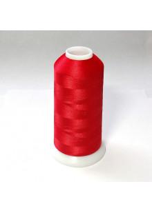Нитки для вышивки полиэстер цвет красный 2292