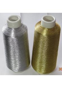 Металлизированная нить для вышивки.