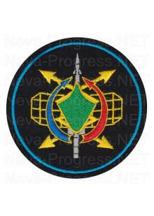 Шеврон 25 радиотехнический полк ПВО (в/ч 86655, Рузский р-н, Нестерово).образца с 2012 года