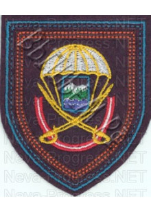 Шеврон  104-й гвардейский десантно-штурмовой Краснознаменный полк образца с 2012 г