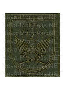 Шеврон 11-я отдельная гвардейская десантно-штурмовая бригада г.Улан-Удэ (на полевую форму)