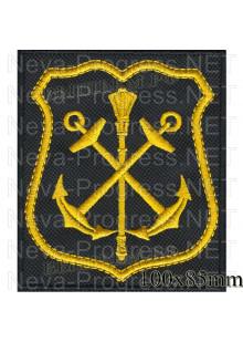 Шеврон  Главный штаб Военно Морского Флота