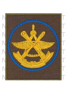 Шеврон 929-й Государственный лётно-испытательный центр Министерства обороны имени В.П.Чкалова, 929 ГЛИЦ ВВС (голубой кант)