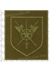 Шеврон 100 сотый отдельный полк обеспечения в\ч 85084 г. Калининец (полевой)