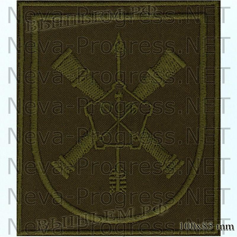 Шеврон 96 отдельная бригада разведки (96 ОБрР) в/ч 52634 Нижний Новгород на полевую форму
