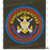 Шеврон 183 гвардейской Молодечненской ордена А.Невского зенитно-ракетной бригады или отдельном зенитно-ракетном полку (войсковая часть 95043)