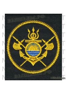 Шеврон 114 бригада кораблей охраны водного района Тихоокеанского флота ОВР ТОФ (Завойко, Камчатка)