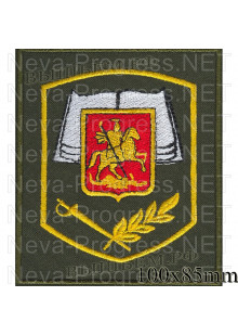 Шеврон кадетский Книга (исполнение по приказу 300)